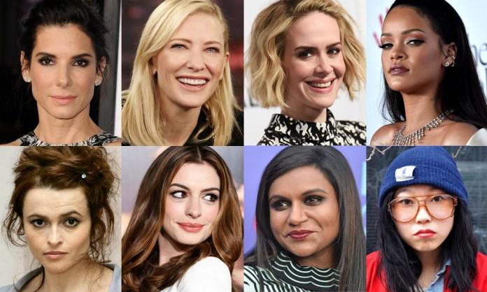 ocean's eight con un cast tutto al femminile